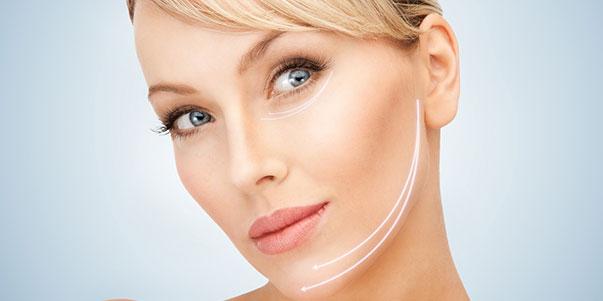 preenchimento facial botox no rosto